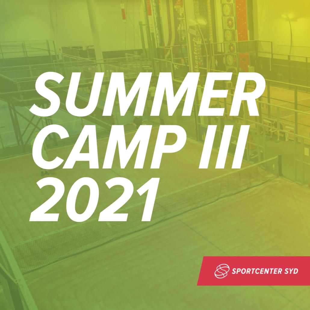 Summer Camp III 2021 (födda 2012-2008)