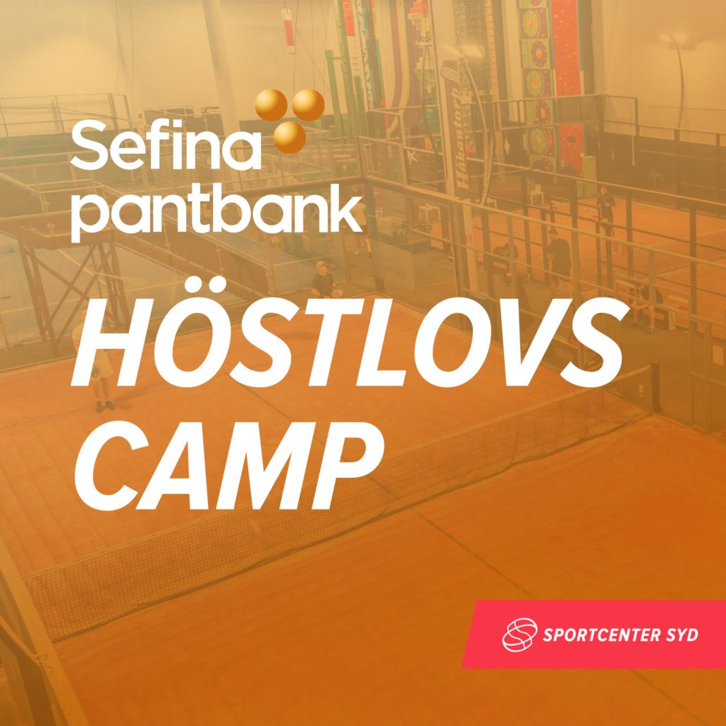 Sefina Pantbank Höstlovscamp (födda 2012-2008)